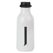 Design Letters AJ Water Bottle with letter - J