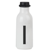 Design Letters AJ Water Bottle with letter - I