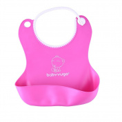 Soft Waterproof Silicone Cute Baby Bib Feeding Infant Kid Toddler Adjustable Bibs Lunch Bibs for Boys & Girls