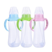 SERDA Closer to Nature Colour My World Feeding Bottles Girl Decorated Different Colour