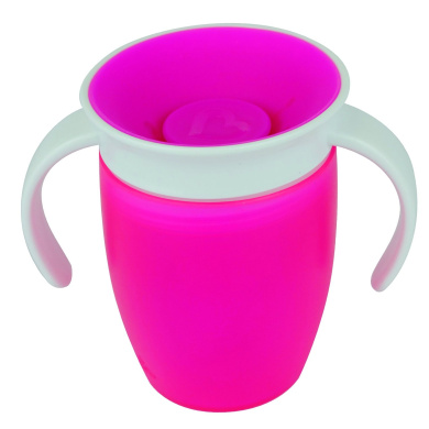 Munchkin Miracle 360 Degree Trainer Cup (207 ml, Pink)