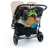 Diago Uk XL Shopping Basket Net Pram, Pushchair, Stroller - Black