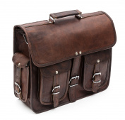 Porterbello - 'Hatton Cross' Large Handcrafted Leather Satchel