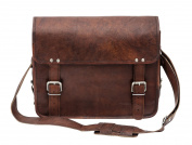 Porterbello - 'Brixton' Large Handcrafted Leather Messenger Bag