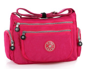 GFM Nylon Shower/Rain resistant Cross Body Bag for Holidays or Everyday Casual Use.