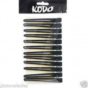 Kodo Sectioning Clips Black X12