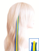 Fun Strands for fans football World Cup - Brazil - Yellow, Green, Blue