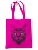 Hypnotised Kitten Cat Tote Shoulder Shopping Bag
