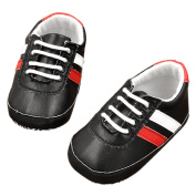 ZebraStory Unisex Baby Toddler Casual Shoes Pre-walkers PU Leather Sneakers Durable Sole Sports Shoe