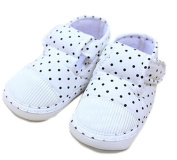 Baby Girl Toddler Soft Sole Polka Dot First Walking Shoes