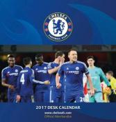 Chelsea Official 2017 Desk Easel Calendar