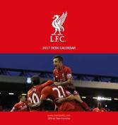 Liverpool Official 2017 Desk Easel Calendar