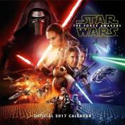 Star Wars Episode 7 Official 2017 Square Calendar