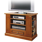 Functional tv unit in wood + BEESWAX FOR FREE