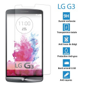 LG G3 - Heavy Duty Tempered Real Glass Screen Protector Glass - LG G3 Screen Protector