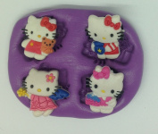 Hello kitty silicone mould /mould