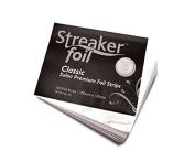 Streaker Foil Short X 100 Sheets