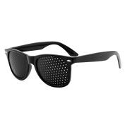 Grenhaven Pinhole Glasses for Eye Training - Black