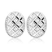 Edmond Earring Women & Girls Jewellery Silver 925 PLATED Earring Perfect Fashion Gift for any Occasion Love Gift with Luck Stud Style