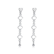 Edmond Earring Women & Girls Jewellery Silver 925 PLATED Earring Perfect Fashion Gift for any Occasion Love Gift with Luck Drop Style