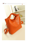 Versatile Leather Handbag