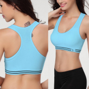 Gym Fitness Sports Bra no rims Full Cup padded bra - size M