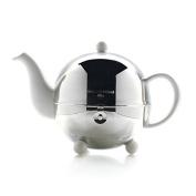 Mariage Freres - ART DECO 1930 TEAPOT - Isotherm stoneware teapot white enamel for 3 cups