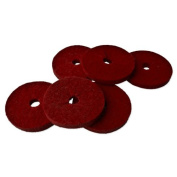 Red Felt Drip Stopper - 6 Pack