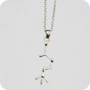 Dopamine Molecule Necklace ,Chemistry Necklace