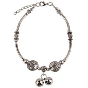 Hand Made Fashion Anklet - Bells and Fish