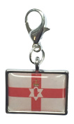 Northern Ireland Flag / Ulster Banner / Flag of Ulster / Northern Ireland Clip On Charm with Organza Gift Bag Handmade by Libby's Market Place