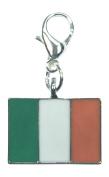 Irish Flag / Ireland Flag / Ireland Clip On Charm with Gift Box Handmade by Libby's Market Place