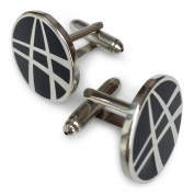 Doctor Strange. Black and Silver Hero Cufflinks in GIFT BOX