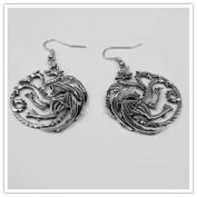 Game of Thrones Targaryen Dragon Earrings for women GT Costume jewellery