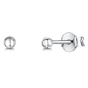 JOOLS by Jenny Brown ®2mm Silver Ball Studs