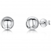 JOOLS by Jenny Brown ®6mm Silver Ball Stud Earrings