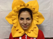 Daffodil Hat Wales Welsh Supporter Hat Cap