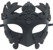 Coofit Mens Masquerade Mask Half Face Greek and Roman Style Venetian Mask