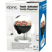 ONE TOUCH CANDY SWEET GUMBALL DISPENSER MACHINE NUT SNACK FUN KIDS HOME VENDING