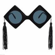 Black Graduate Graduation Cap Party Giant Novelty Spectacles Glasses