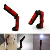 LED Work Flashlight Emergency Light with Magnetic Folding Hook Hanging Torch