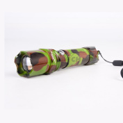 Camouflage Super Bright LED Handheld Torch Flashlight