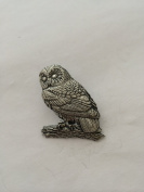 B3 Tawny Owl pin badge fine english pewter pin badge with a prideindetails gift package