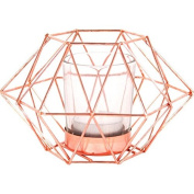 """Jones Home and Gift """"Octagonal Geometric"""" Candle Holder, Multi-Colour"""