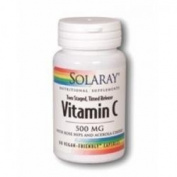 Solaray Vitamin C 500mg Time Release 60 Capsules - CLF-SR-1080
