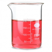 Glass Measuring Beaker 200ml | Low Form Beaker, Measuring Cup, Borosiliate Beaker