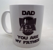 Dad you are my father Darth Vader 330ml funny 330ml ceramic mug fathers day christmas