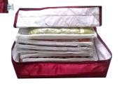 Glitter Collection (TM) 12 Sarees bag, saree cover, 1 bag for keeping 12 sarees ,Wedding Collection SAB12