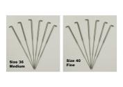 Needle Felting Needles - 36 Gauge (medium) & 40 (fine) - 6 of each