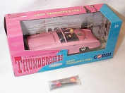 corgi classic thunderbirds lady penelope's FAB 1 car with figures and full working features diecast model